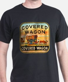 Covered Wagon Cigar Label T-Shirt