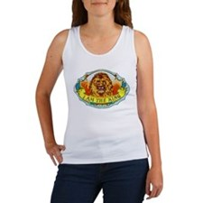 Lion King Cigar Label Women's Tank Top