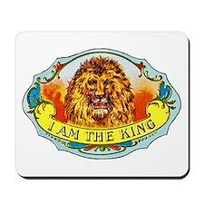 Lion King Cigar Label Mousepad