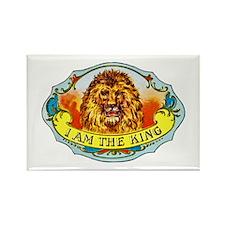 Lion King Cigar Label Rectangle Magnet (10 pack)