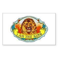 Lion King Cigar Label Decal