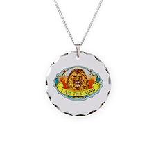 Lion King Cigar Label Necklace