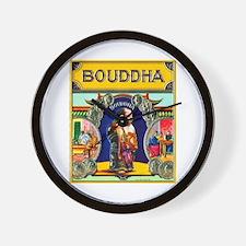 Bouddha Cigar Label Wall Clock