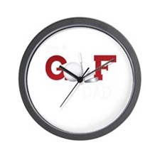 Golf family Wall Clock