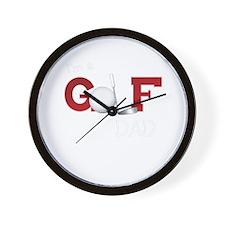 Golf family Wall Clock
