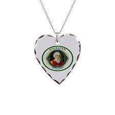 Socrates Cigar Label Necklace