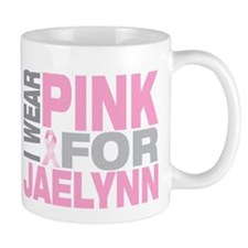 I wear pink for Jaelynn Mug