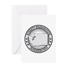 Everett Washington Greeting Card