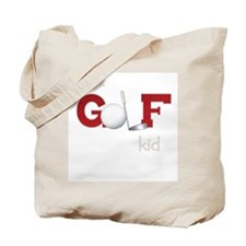 Golf kid/baby Tote Bag