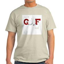 Golf kid/baby Ash Grey T-Shirt