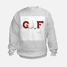 Golf kid/baby Sweatshirt