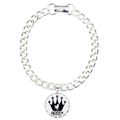 Queen of My Pack Charm Bracelet, One Charm
