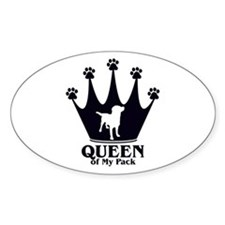 Queen of My Pack Decal