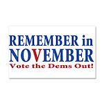 Vote Republican 2010 Car Magnet 20 x 12