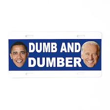 Anti obama bumper stickers Aluminum License Plate