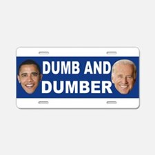 Anti obama bumper stickers Aluminum License Plate