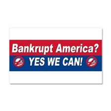 Anti obama bumper stickers Car Magnet 20 x 12