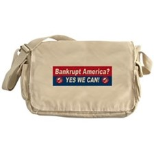 Anti obama bumper stickers Messenger Bag