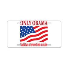 Anti Obama Aluminum License Plate