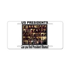 Anti Barack Obama Aluminum License Plate