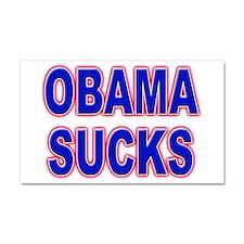 Obama Sucks Car Magnet 20 x 12
