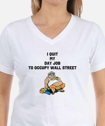 Quit Day Job To Occupy Wall S Shirt