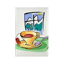 Tea2 Rectangle Magnet