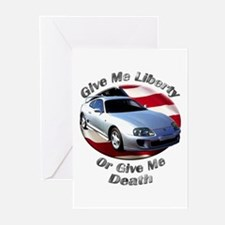 Toyota Supra Greeting Cards (Pk of 20)
