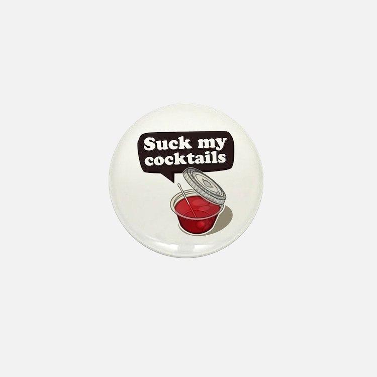 Cute Alcohol Mini Button (10 pack)