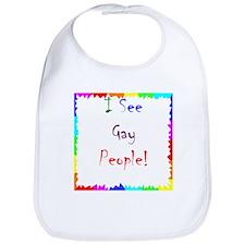 Gay People! Bib