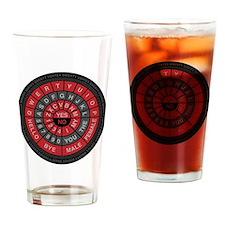 Qwerty Vortex Drinking Glass