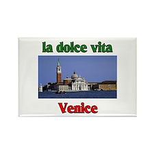 la dolce vita Venice Rectangle Magnet