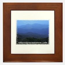 Blue Ridge Mountains NC Framed Tile