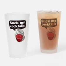 Cute Cocktails Drinking Glass