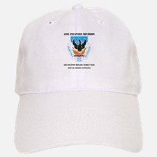 DUI - 3rd BCT - Special Troops Bn with Text Baseball Baseball Cap
