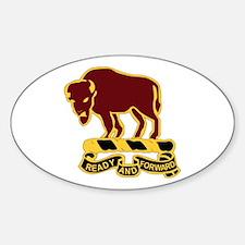 DUI - 4th Sqdrn - 10th Cavalry Regt Decal