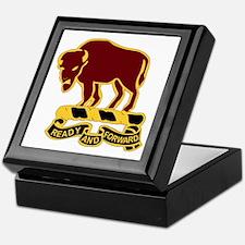 DUI - 4th Sqdrn - 10th Cavalry Regt Keepsake Box