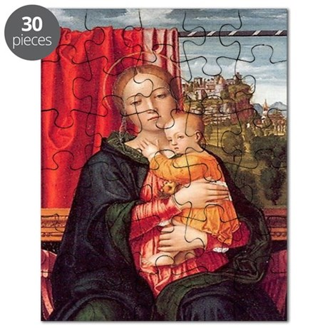 Virgin and Child Puzzle