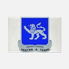 DUI - 1st Bn - 68th Armor Regt Rectangle Magnet