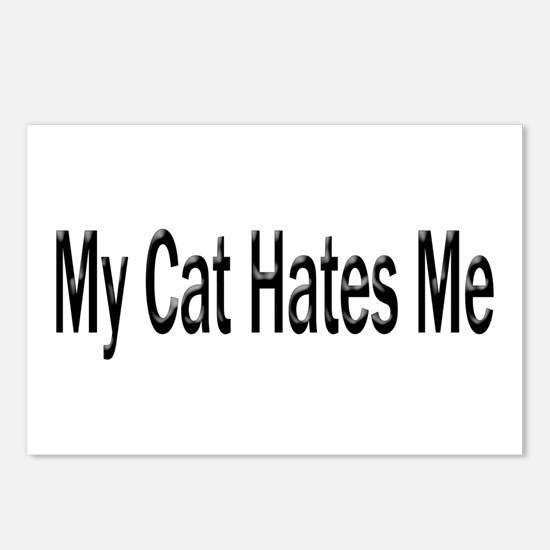 My Cat Hates Me Postcards (Package of 8)