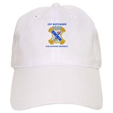 DUI - 1st Bn - 8th Infantry Regt with Text Baseball Cap