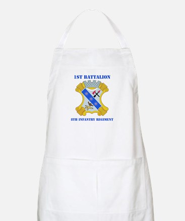 DUI - 1st Bn - 8th Infantry Regt with Text Apron