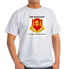 3rd Bn - 29th FAR with Text T-Shirt