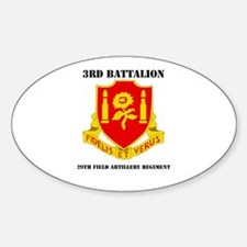 3rd Bn - 29th FAR with Text Decal