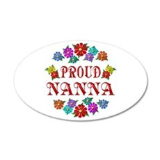 Proud Nanna 22x14 Oval Wall Peel