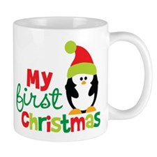 Penguin My 1st Christmas Mug