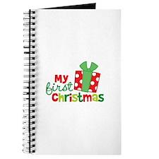 Present My 1st Christmas Journal