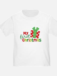 Present My 1st Christmas T