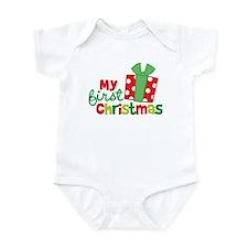 Present My 1st Christmas Infant Bodysuit