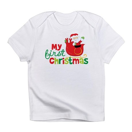 Santa My 1st Christmas Infant T-Shirt